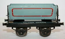 Vintage Hornby O Gauge Side Tipping Wagon, 1923, 1st version/Type, Repro Box