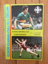 Gaa All Ireland Football final 1986 Kerry v Tyrone Programme