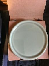 Longaberger one pint Sage Crock Lid / Coaster - new in box - made in Usa