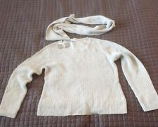 Charter Club Sweater with Infinity Scarf NWT Large  053