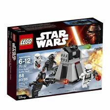 NEW LEGO Star Wars First Order Battle Pack - 4 minifigures 88 Pcs 75132 Trooper