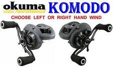 Okuma Komodo Low Profile Fishing Reel Kds-463lx Aluminium Spool 54297