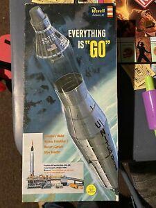 Revell Everything Is Go Mercury Capsule & Atlas Booster Model Kit Incomplete
