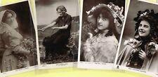 ☆ EDWARDIAN THEATRE / MUSIC HALL ACTRESS / DANCER ☆ 1900s Postcards LIST 6