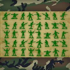 Army Men Wall Decals, Army Wall Stickers, Army Men Wall Decor - 40 Decals