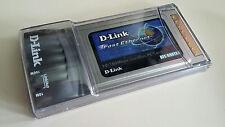 D-LINK Fast Ethernet PC PCMCIA Cardbus 10/100Mbps Card DFE-690TXD