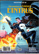 UNE AVENTURE DU PUNISHER :   L'INTRUS   COLLECTION TOP BD     EDITIONS LUG