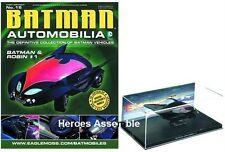 DC cimeli automobilistici # 15 BATMAN E Robin # 1 BATMOBILE Eaglemoss (1 2 3 4 11 12 13 14)