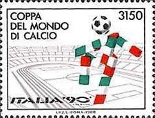 1988 ITALIA COPPA DEL MONDO DI CALCIO ITALIA 90 MNH ** - ED