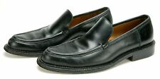 "Bally (Italy) Men's Black Shoes. Model ""Vental"". All Leather. Size US9-10. Ex."