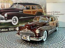 Danbury Mint 1947 Buick Roadmaster.Rare Limited Wagon.1:24 Flyer.Undisplayed