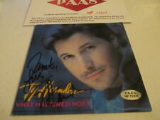 TY HERNDON HAND AUTORAPHED CD COVER WITH PAAS COA