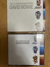 David Bowie Platinum Collection US 3CD Set BMG Music Club Issue