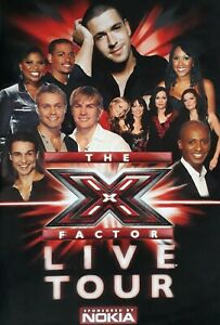 The X Factor Live Tour February 2006 Programme.Shayne Ward/Andy Abraham+