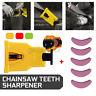 Chainsaw Teeth Sharpener Sharpens Self Bar Mount Chain Grinder Sharpening Tools