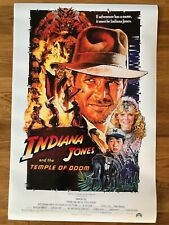 Large Movie Poster Indiana Jones and the Temple Of Doom 430mm x 650mm