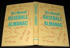 BROOKLYN DODGERS 1953 YANKEES MUTUAL BASEBALL ALMANAC CAMPANELLA STAN MUSIAL ETC