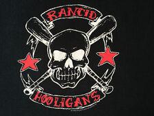 *Vintage* 'Rancid - Hooligans' T Shirt: 2002: Authentic: Machete Lic.: Euc: L