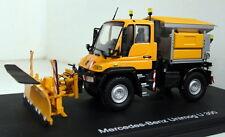 Schuco 1/43 escala 04643 Mercedes Unimog U 300 Camión de Modelo Diecast Winterdienst