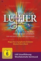 DIETER/KUNZE,MICHAEL FALK - POP-ORATORIUM LUTHER  2 DVD NEW+ FALK,DIETER
