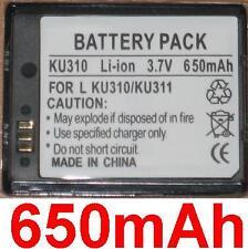 Batterie 650mAh type LGLP-GAZM Pour LG KU311