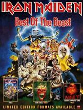 Best Of The Beast Iron Maiden poster UK promo 32 X 24 EMI 1996