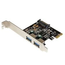 StarTech.com 2 Port PCI Express PCIe SuperSpeed USB 3.0 Controller Card with