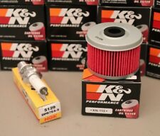 Honda Foreman TRX450ES Tune Up Kit Spark Plug K&N Oil Filter TRX400 4x4 FW 450ES