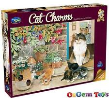Holdson Cat Charms Agnethea and her Kittens Jigsaw Puzzle 1000 Pieces