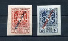 1936.ESPAÑA.EDIFIL 729/30*.NUEVOS CON LEVE FIJASELLOS.(MLH)CAT 500€