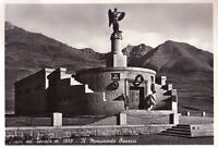 PASSO DEL TONALE - IL MONUMENTO OSSARIO - RARA CARTOLINA - ANNI '40