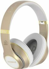 Massive Audio Gold Bluetooth Flex Extreme Bass Beats Headphones High Quality NEW
