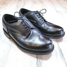 Dunham Burlington Waterproof Mens Sz 10.5 D Black Leather Oxford Dress Shoes