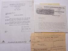 1928 Lamson Goodnow Rudman Scofield NYC Kitchen Equipment Ephemera L309B