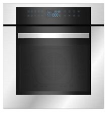 """Empava 24"""" Stainless Steel LED Control Panel Electric Built-in Single Wall Oven"""