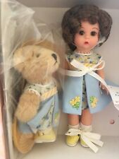 "Madame Alexander 8"" Teddy and Me Collecting Bears Wendy Doll & Jointed Bear Set"