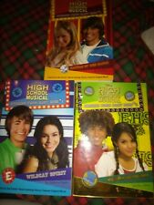 Disney High School Musical  3 book set (Parragon press) Zac Effron  Troy Gabriel