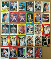 Dale Murphy LOT of 29 error traded base cards NM+ 1987-1993 Braves Phillies Atl