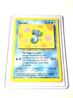 HORSEA - Neo Genesis Set - 62/111 - Common - Pokemon Card - Unlimited - NM