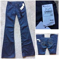 MONARCHY Neiman Marcus DARK WASH Women's Flare Jeans ~NWT $164~ Size 24