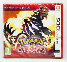 POKEMON RUBI OMEGA - NINTENDO 3DS - PAL ESPAÑA - NUEVO PRECINTADO - EDICION RUBÍ