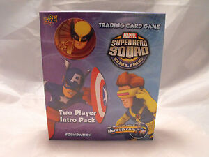 MARVEL SUPER HERO SQUAD TWO PLAYER INTRO PACK/STARTER DECK