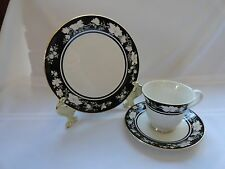 "BEAUTIFUL CUP, SAUCER, AND LUNCHEON PLATE-ROYAL DOULTON TABLEWARE LTD-""INTRIGUE"""