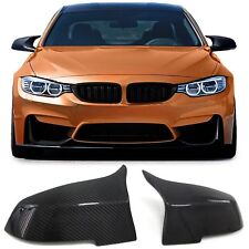 100% Carbon Fiber Mirror Covers M3 Style Replace For BMW 320 428 435i M2 11-17