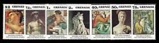 GRENADA. Works of Michelangelo 1975 Scott 676-682. MNH (BI#38)