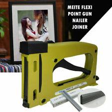 Point Driver Stapler Picture Framing Tool Frame Gun Nailer w/ 1000Pcs Poin C#
