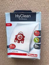 Miele HyClean 3D Efficiency Dustbag FJM 4 Bags & 2 Filter Box Damaged
