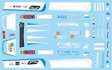 DECALS 1/43 MITSUBISHI LANCER -#46 - COLLIGNON -RALLYE DE WALLONIE 2015 - D43408