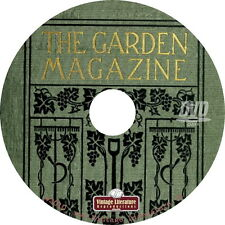 The Garden Magazine { 210 Vintage Issues from 1905 to 1922 } on DVD