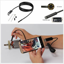 7mm 5M Vehicles Car Endoscope HD 6Led Android PC USB Borescope Inspection Camera